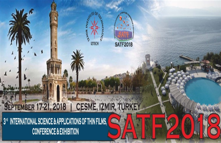 Science and Applications of Thin Films, Conference & Exhibition (SATF 2018)